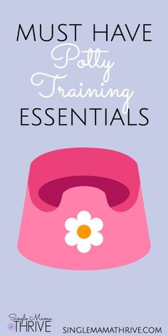 Potty training? Read this list of must have essentials to make it easier! #pottytraining #pottytrainingtoddlerstips