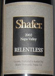 2002 Shafer Relentless