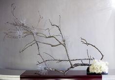 Modern Christmas Ikebana Style
