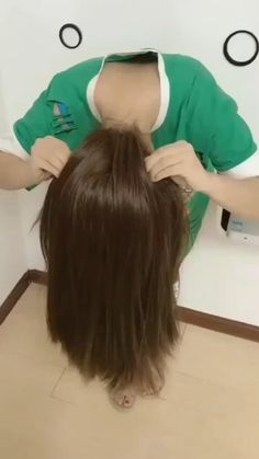 Long Hair Ponytail Styles, Easy Hairstyles For Long Hair, Cute Hairstyles, Medium Hair Styles, Short Hair Styles, Videos Of Hairstyles, Ponytail Ideas, Easy Ponytail Hairstyles, Beach Hairstyles