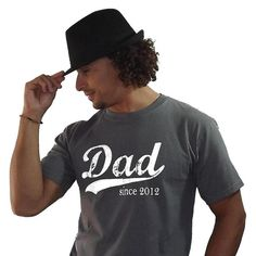 new dad tshirt. Even though this guy looks like a dbag, the shirt is a cool idea.