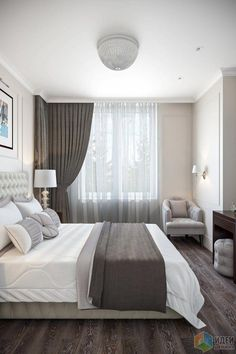 Simple Tips on Improving the Look of Your Bedroom - Interior Decor and Designing Bedroom Closet Design, Home Room Design, Modern Bedroom Design, Small Room Bedroom, Home Decor Bedroom, Home Interior Design, Bedroom Designs, Woman Bedroom, Luxurious Bedrooms