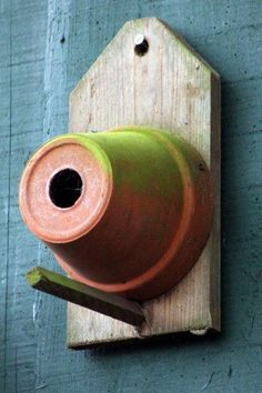 Pot bird house. Simple. Cool. #mywatergallery