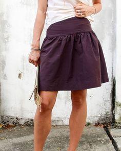 Basics. Drop Skirt PDF Instant Download womens | Etsy