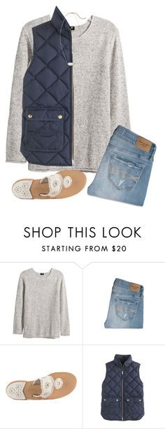 """Don't you worry your pretty little mind//Sydney❤️"" by preppy-girls-on-fleek ❤ liked on Polyvore featuring H&M, Abercrombie & Fitch, Jack Rogers, J.Crew and Kendra Scott"
