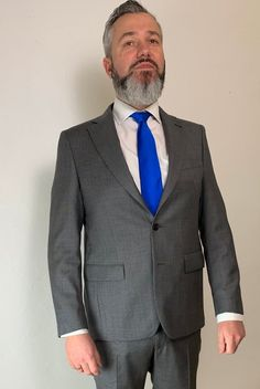 James Bond Anzug - no time to die - prince of wales check grey Gentleman, Prince Of Wales, Suit Jacket, Suits, Grey, Check, Jackets, Fashion, James Bond Suit