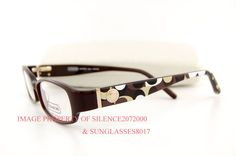 548d73d48166 Brand New COACH Eyeglasses Frames 844 BERNICE BROWN 51 (883121383128