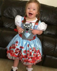 Could she be any cuter? Girls Dresses, Flower Girl Dresses, Summer Dresses, Down Syndrome, Pure Products, Wedding Dresses, Cute, Fashion, Dresses Of Girls
