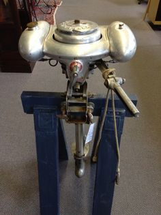 Vintage Outboard Boat Motor called the Water Witch by Sears Roebuck  Co. priced at $595.