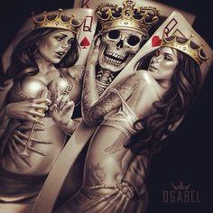 Great art piece! See More : http://luxurystyle.biz/tattoo/