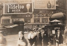 Fidelio Beer, Paul Jones Rye Whiskey (2 advertisements)