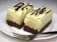 Cheesecake s čučoriedkovou šľahačkou No Cook Desserts, Delicious Desserts, Dessert Recipes, Yummy Food, Delish Cakes, Czech Recipes, Hungarian Recipes, Slovak Recipes, Brownie Cake