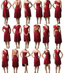 several 'infinity dress' type sewing patterns and tutorials