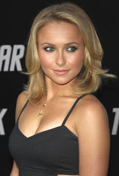 Hayden Panettiere's hair! I like the length! A good style after donating your hair!