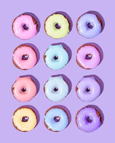 Rainbow Dozen // Violet Tinder Studios x Pastel Wallpaper, Tumblr Wallpaper, Wallpaper Backgrounds, Iphone Wallpaper, Trendy Wallpaper, Pastel Purple, Pretty Pastel, Pastel Colors, Rainbow Pastel