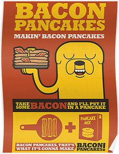 Bacon Pancakes by georgeval