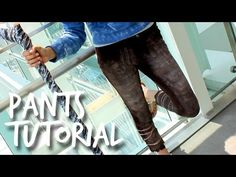 Jack Frost Pants Tutorial [Rise of the Guardians] - YouTube