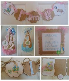 Peter Rabbit 1st Petite Birthday  Party by ASweetCelebration