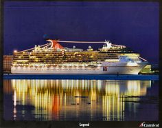 images of cruise ships | The Carnival Cruise Ship Ledgen