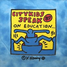 Haring Art, Political Art, Education, Fictional Characters, Onderwijs, Fantasy Characters, Learning