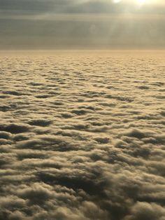 Облака. Вид из самолета