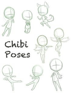 CHIBI POSES - This is good reference!!