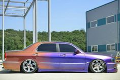 Rainbow car Equus