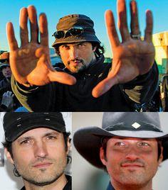 Robert Rodriguez director, yep he's Mexican American!