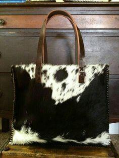 Speckled fur bag inspo