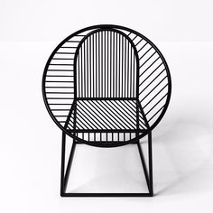 CIRCLE Steel easy chair, design by Pool (2014) for @gallerybensimon Find more on archiproducts.com #archiproducts #design #chair (presso More on Archiproducts.com)