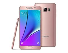 Pink Gold And Silver Titanium Galaxy Note 5 Announced