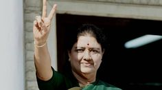 It was Panneerselvam who proposed the name of VKSasikala as the leader of AIADMK legislature party leader.  	   	AIADMK General Secretary V K Sasikala flashes a victory sign after attending the party MLA's meeting in which she was e