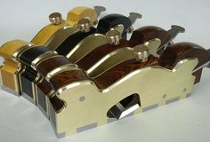 Fantastic infills. http://www.holteyplanes.com/    #tools #woodworking