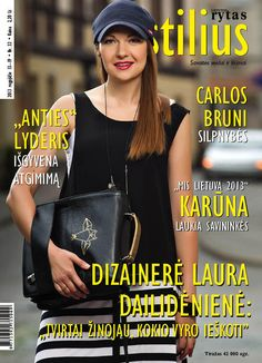 Our designer Laura Dailideniene on the cover of magasine !