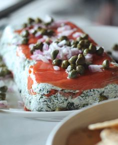 Appetizer recipe - smoked salmon terrine