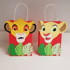 What a great idea Lion King goody bag sets 😍 In love with the final product. Can be customized to any theme, any color. Jungle Theme Birthday, Lion King Birthday, 2nd Birthday Party Themes, Baby Boy 1st Birthday, Boy Birthday Parties, 4th Birthday, Birthday Ideas, Lion King Theme, Lion King Party