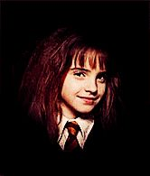 Hermione Granger  -  The thrill of realizing that underneath how much they've changed, they're still the same wonderful person you befriended way back when.