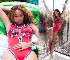 2016 New Summer Style Beyonce/Rihanna/Miley Star Jumpsuit BULLS 1 Bodysuit One Piece Swimsuit Women Jumpsuit