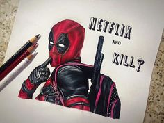 deadpool art netflix