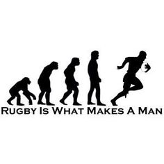 Evolution Of Man Sihouette Wall Art Stickers Wall Decal