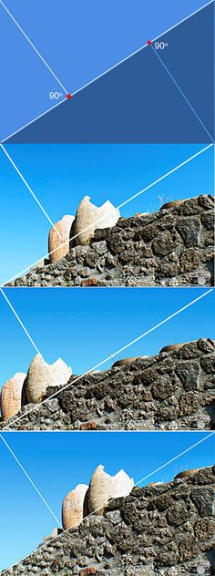 Photography Composition: The Golden Triangle Rule and what works best for the photo.
