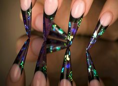 Youngs nails I would love to try this!!