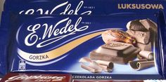 E. Wedel- Gorzka:   Dark chocolate bar Chocolate Treats, Confectionery, Good Things, Bar