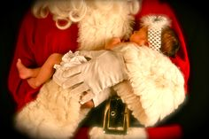 Baby Girl will definately be getting a pic with Santa this year!