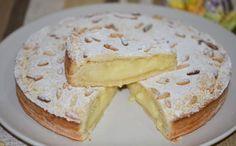 Torta della nonna *** Grandma's cake - Home Italian Recipes Italian Pastries, Italian Desserts, Italian Recipes, Dessert Thermomix, Torte Cake, Cooking Chef, Sweet Bread, Sweet Recipes, Bakery