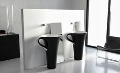 Lavabo de diseño Copa de ArtCeram por Meneghello Paolelli Associati http://www.arquitexs.com/2013/10/lavabo-de-diseno-copa-de-artceram-por.html
