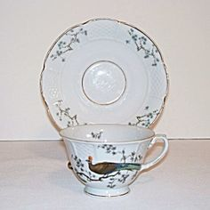 Rosenthal Bird of Paradise Tea Cup and Saucer. Click on the image for more information.