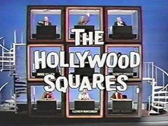 """""""The Hollywood Squares"""" aired from 1966- 2004 with various hosts and stars. It was a very popular show."""