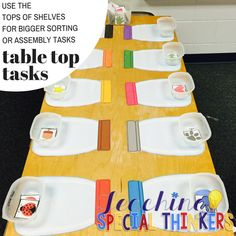 6 Unconventional Classroom Centers | Teaching Special Thinkers