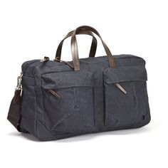 Tommy Trip Bag Denim | WAXED CANVAS | LEATHER |STYLISH BAGS | CLASSIC DESIGN | MEN'S BAGS | TRAVEL |